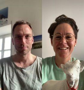 Tim Nebelung und Nicole Bender